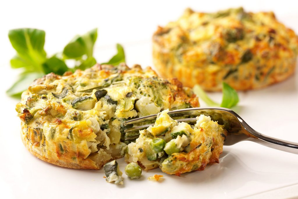 Light Choices – Green Vegetable Quiche